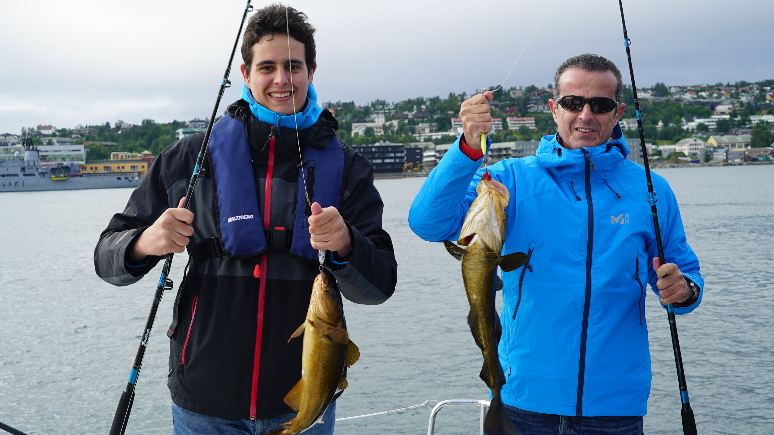 Fishing | #Tromsø |Arctic Princess |Guests from #Mallorca