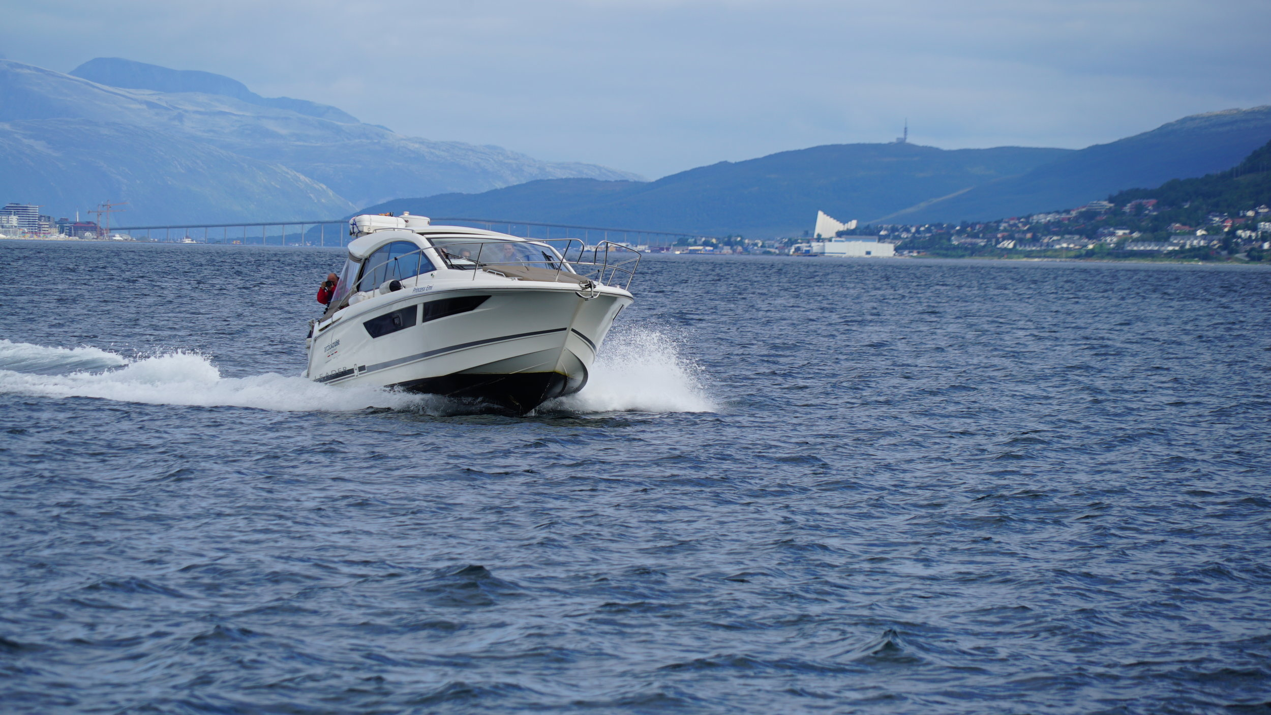 #Fishing tour | #Tromsø | Arctic Princess | Guests from UK