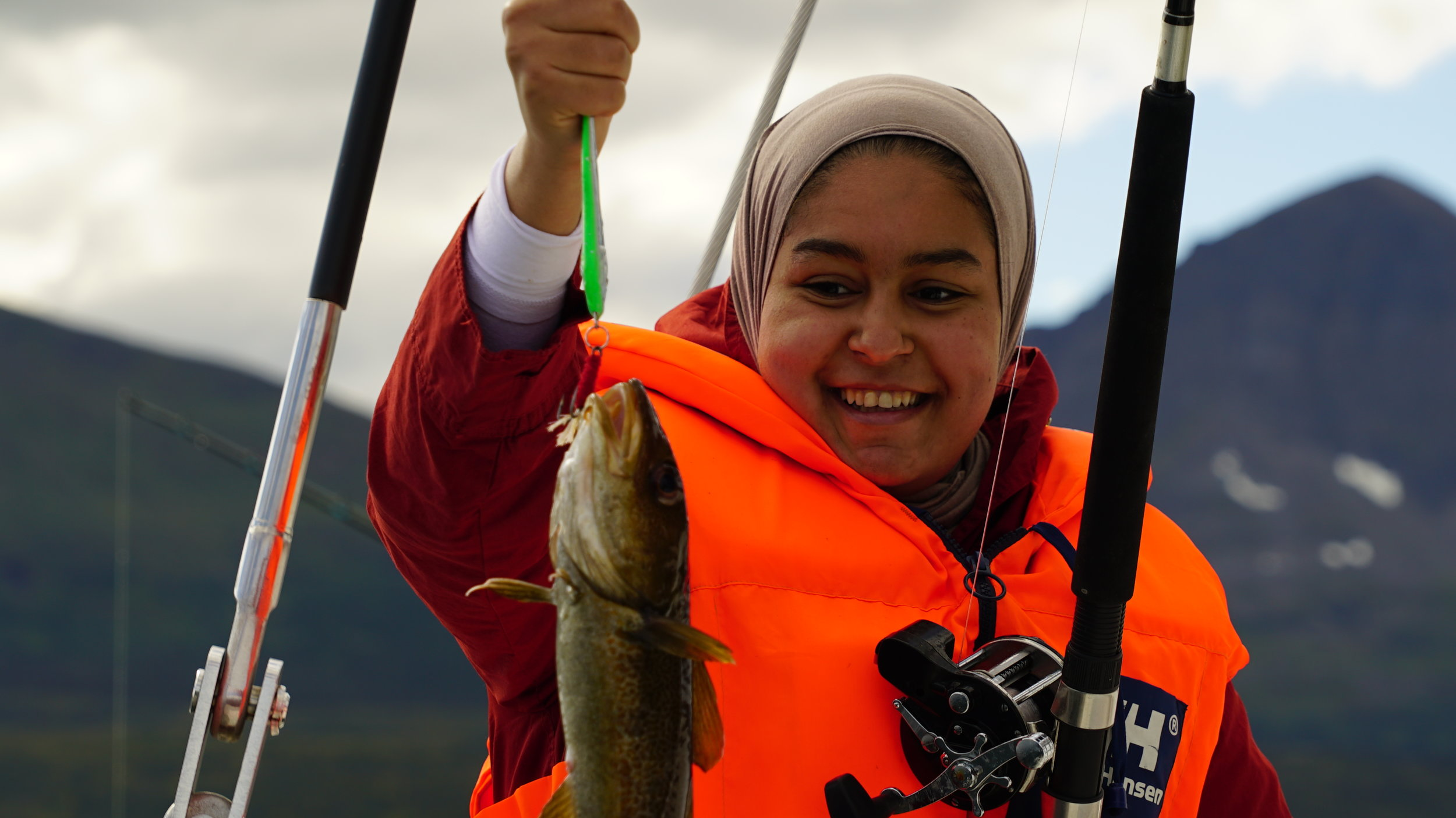 #Fishing sailing | #Tromsø | #Arctic Princess |Guest from India and Denmark