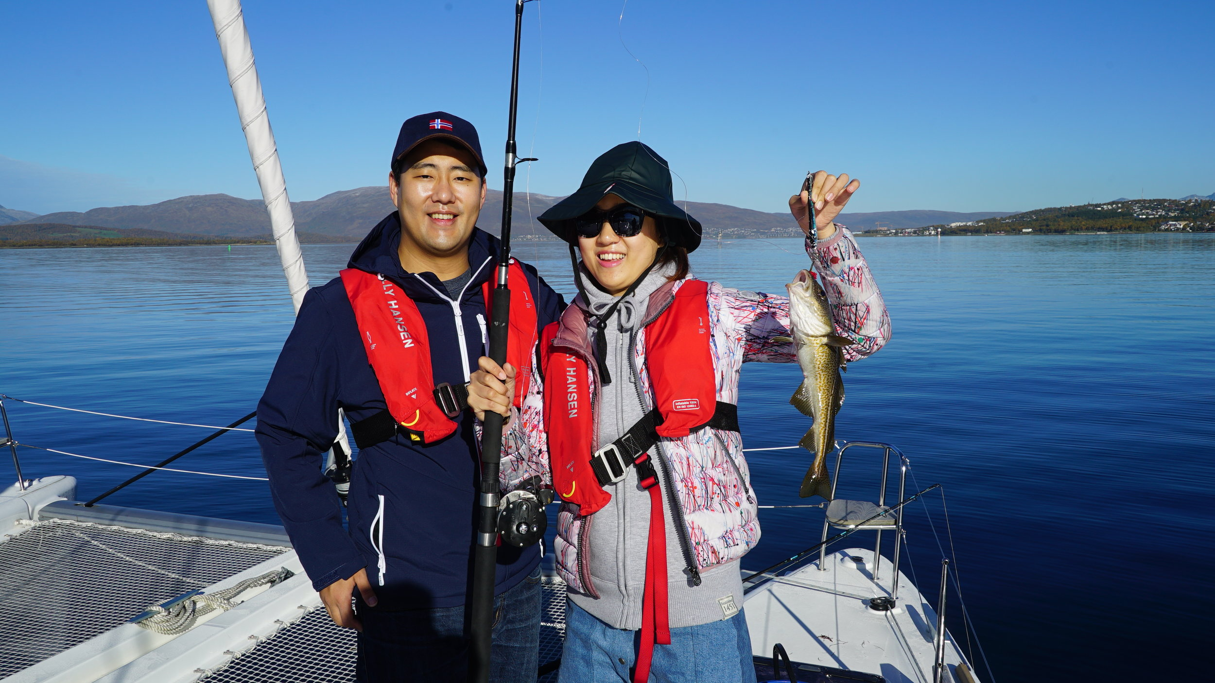 #Fishing | Guests from South #Korea | #Tromsø | Arctic Princess