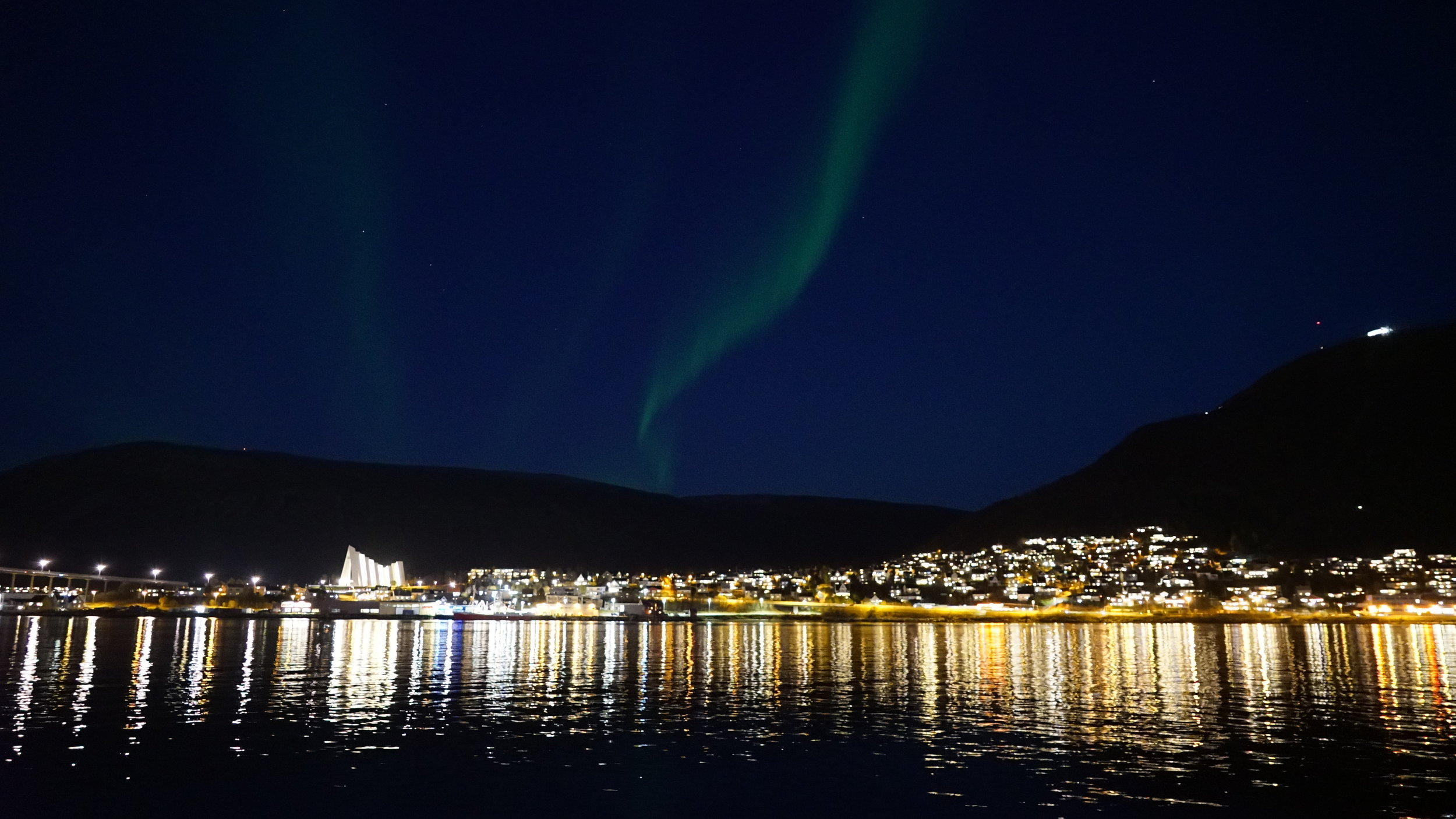#Northernlight | #Boat tour | # Tromsø | Guests from Germany