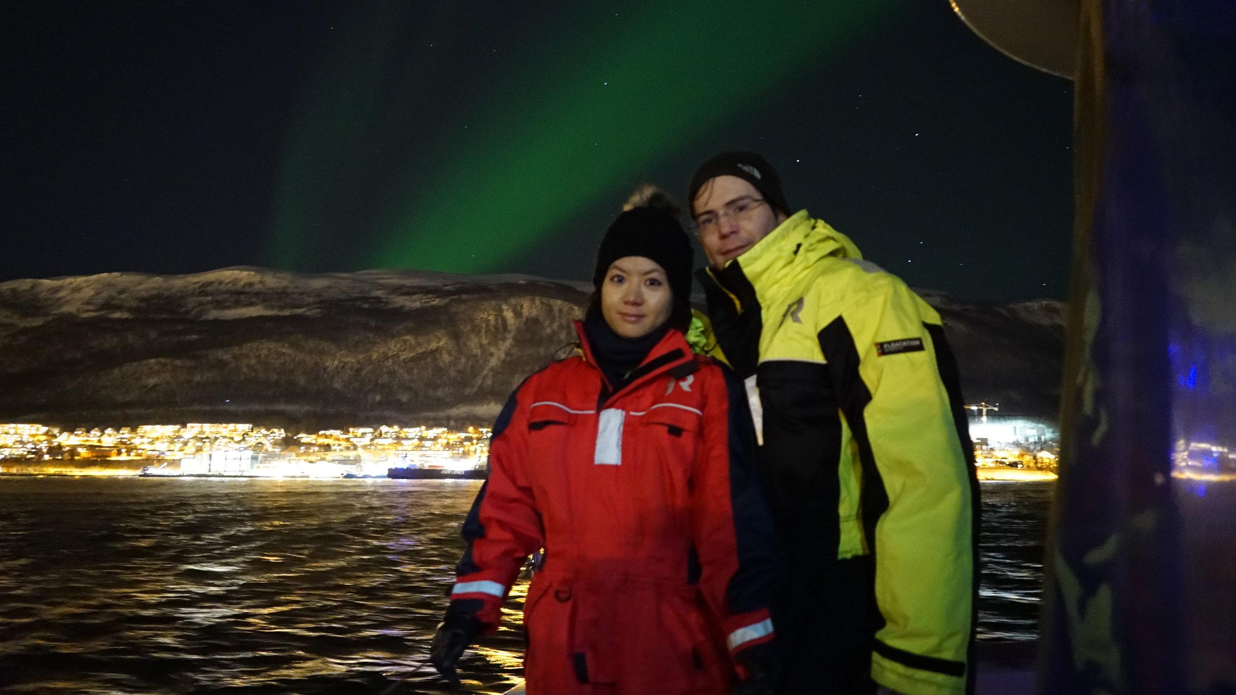 #Northernlight | #AuroraBoreal | #Tromso