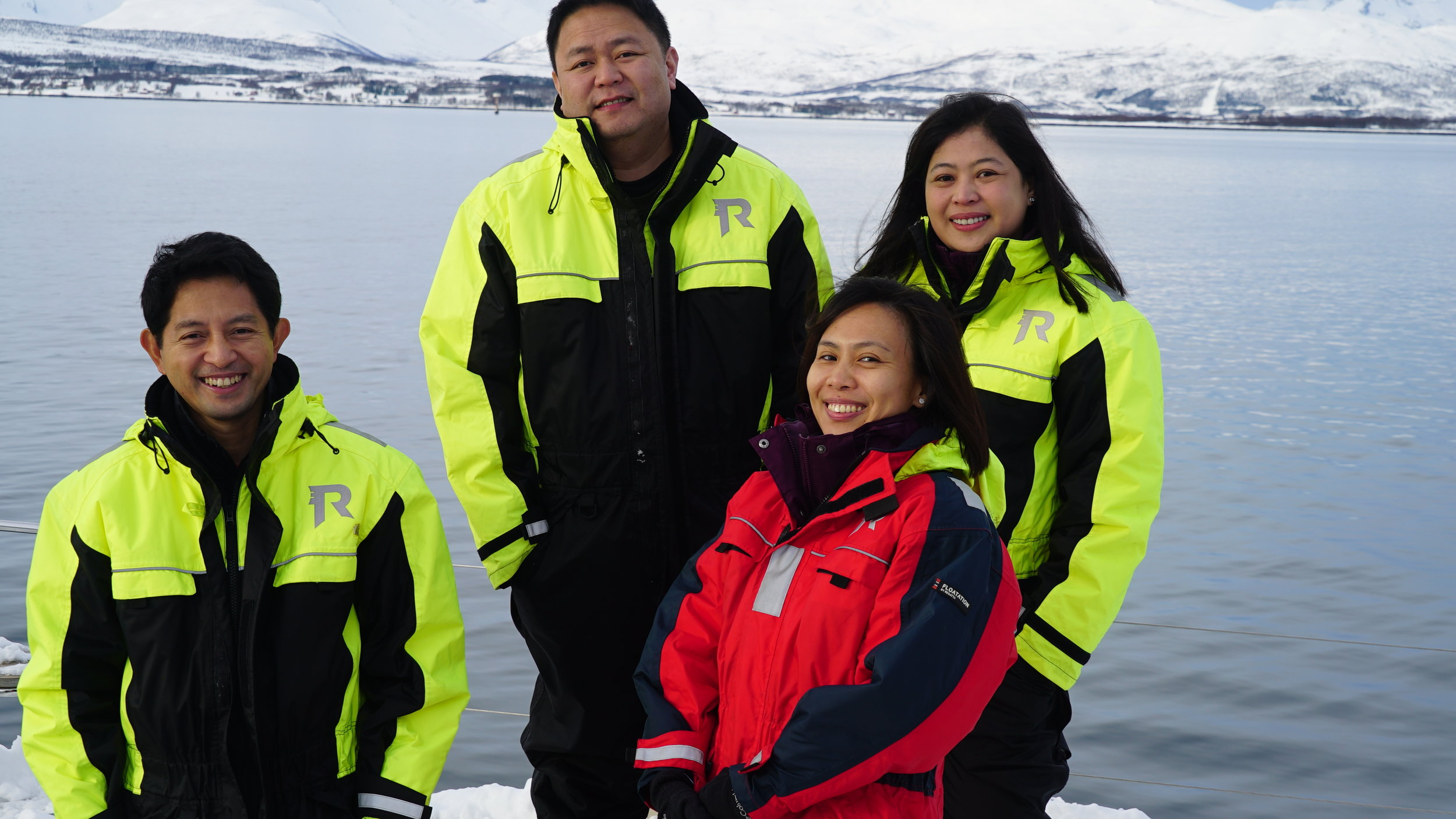 #VIP | #Sail & Relax | #Arctic Princess | #Tromso | Guests from Philipines