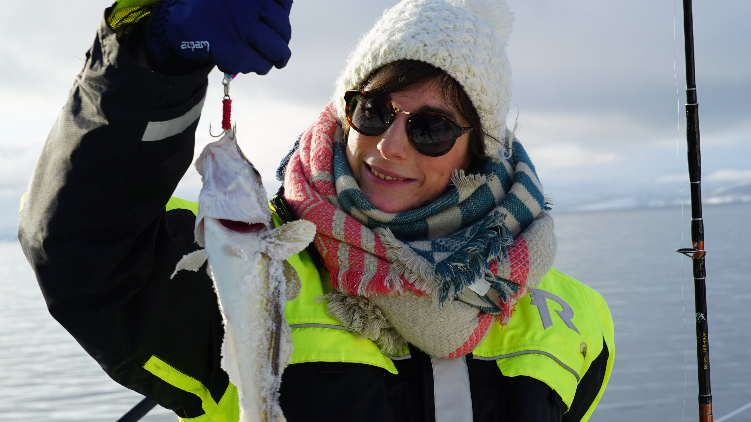 #Selfcaught #fishdinner| #Arctic Princess | #Tromsø | Guests from France & Norway