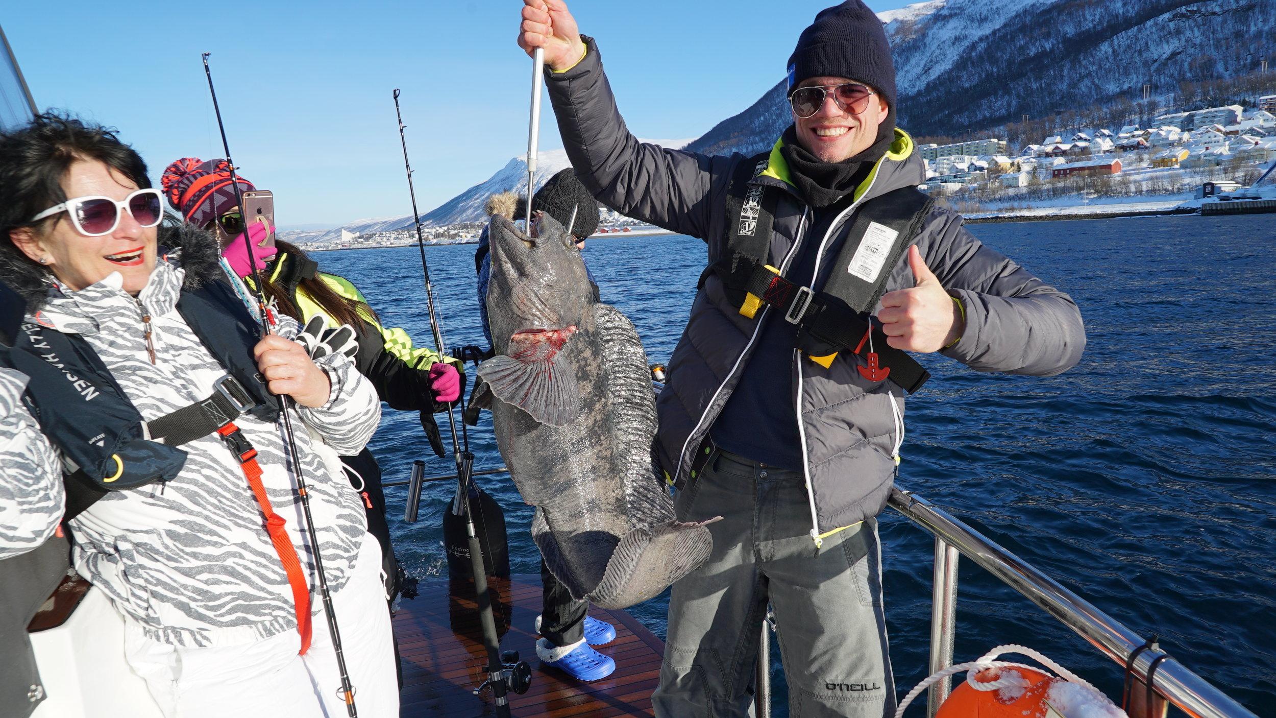 #Sigtseeing | #Tromsø | #ArcticQueen |Guests from Kuwait & Netherland