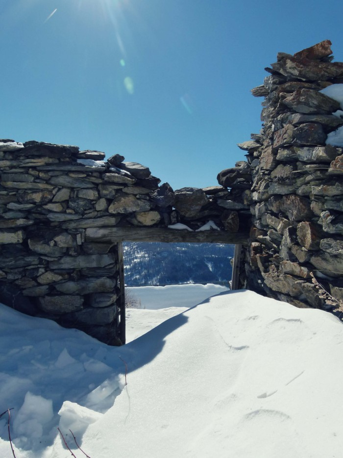 Chalet ruins
