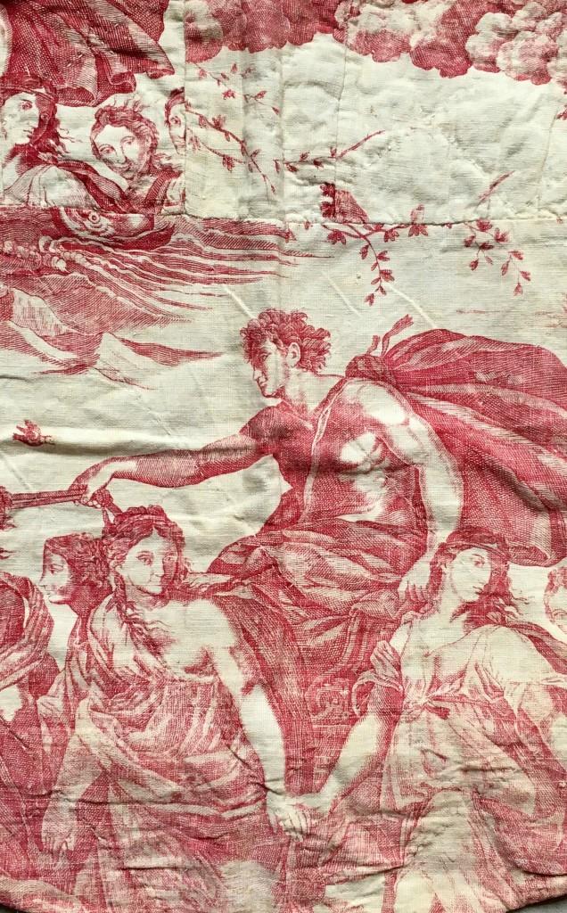 """Toile de Beautiran Guido Reni """"le char de l'Aurore"""""""