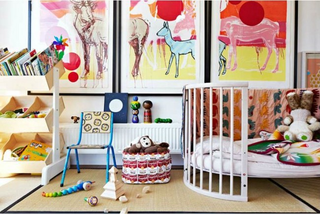 colourful kids bedroom from Melbourne based photographer Armelle Habib.