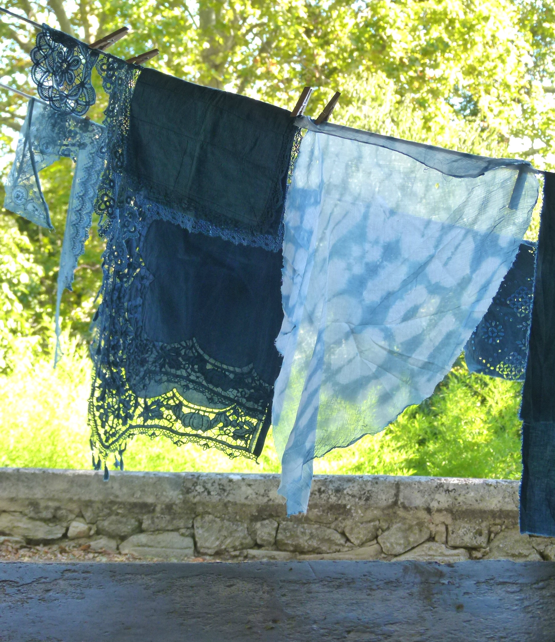 The French Muse experience Indigo dying workshop