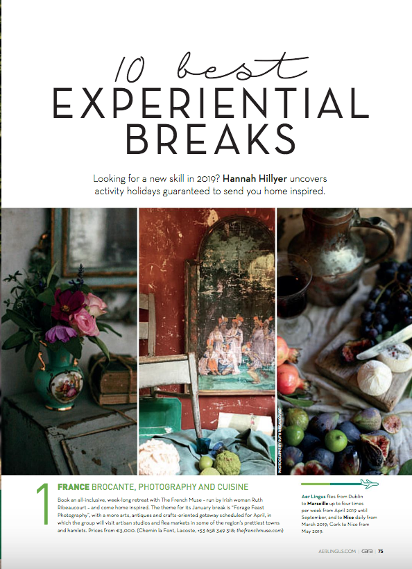No. 1 in Cara Magazine's Top 10 Experiential Breaks Worldwide - Issue Dec 2018-Jan 2019