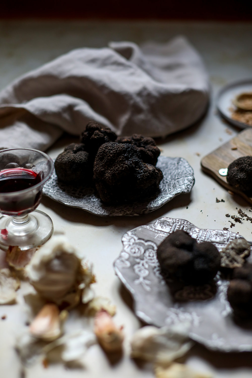 Truffle cookery class, credit Ruth Ribeaucourt