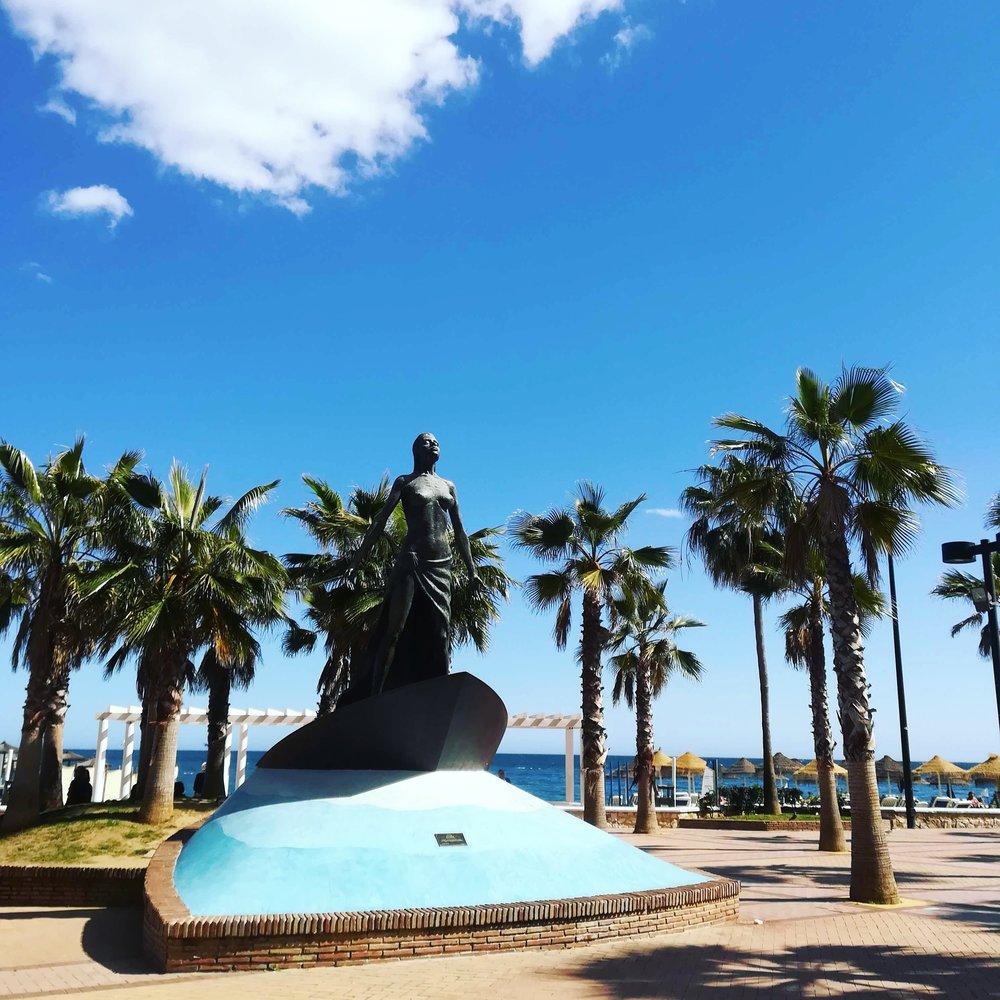 Estatua de la Mediterránea - Paseo Marítimo Rey de España, 29640 FuengirolaMálaga