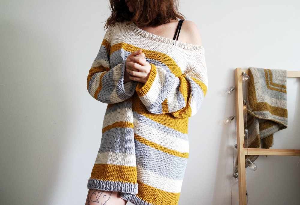 Patterns - Here you will find knitwear, home decor accessories and patterns with a minimal and modern twist.