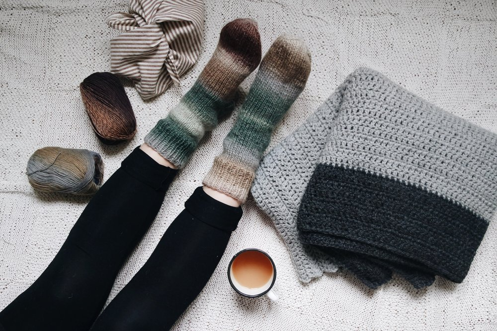 Cozy Home Socks - You can order them here / Li puoi ordinare quiEtsy