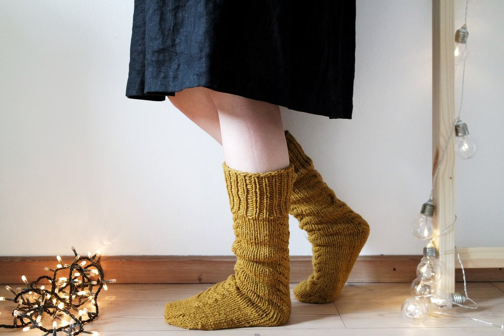 Autumn Goals Socks - You can order them here / Li puoi ordinare quiWebshopEtsy