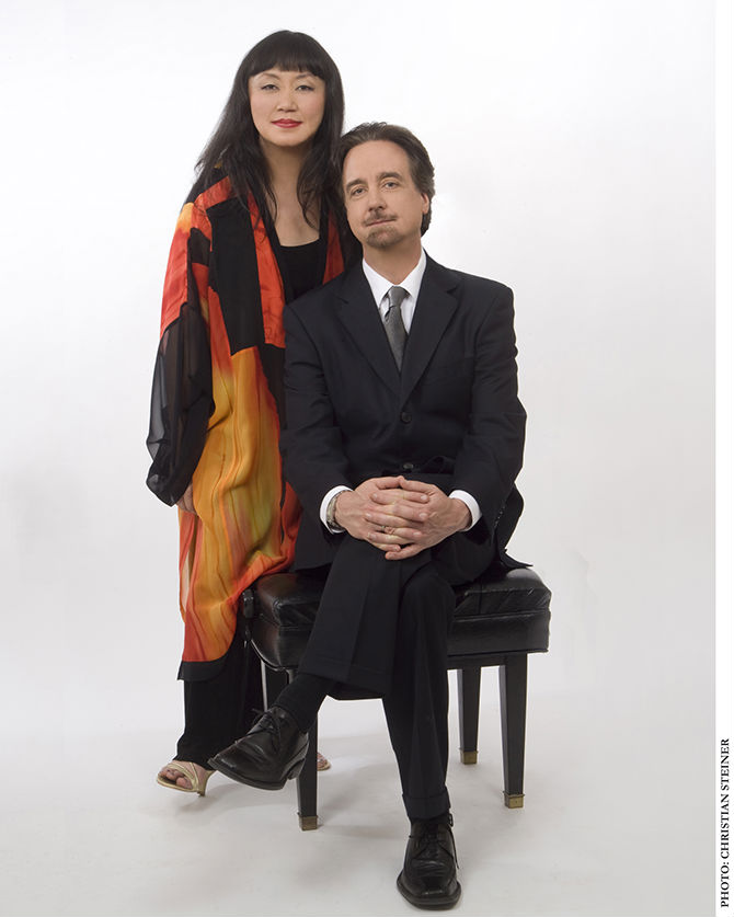 David Finckel and Wu Han  Co-Artistic Directors, Chamber Music Today Photo credit: Christian Steiner