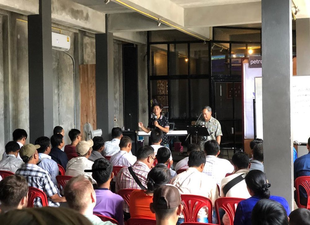 Myanmar church planting conference