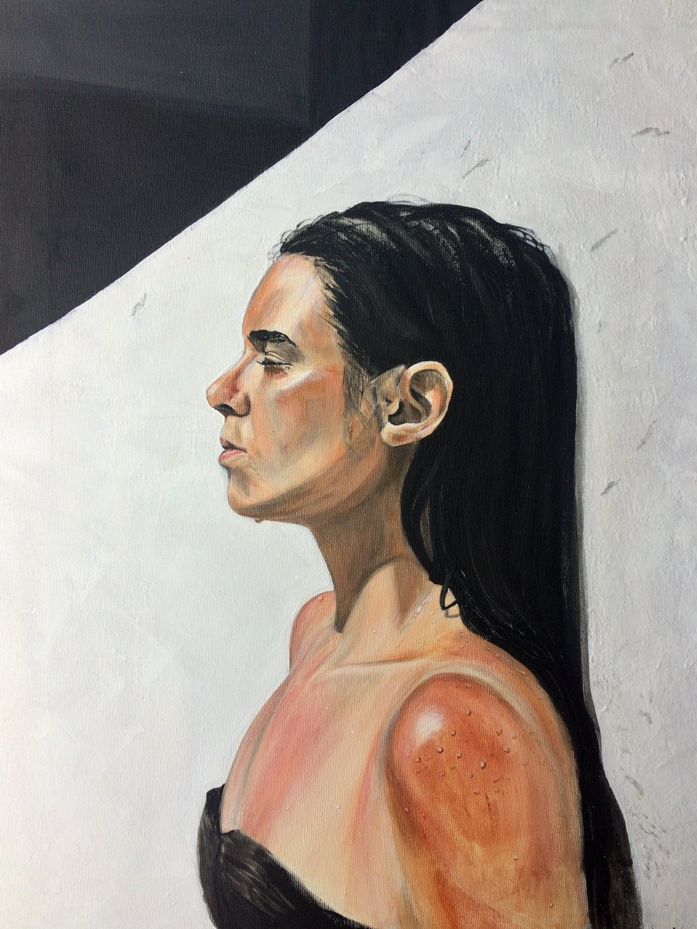 Ana.  Acrylic on Canvas, 61 x50 cm. Available