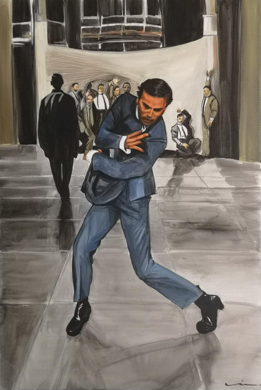 Juan Pedro Delgado Acrylic on canvas, 90x60 cm. Available.