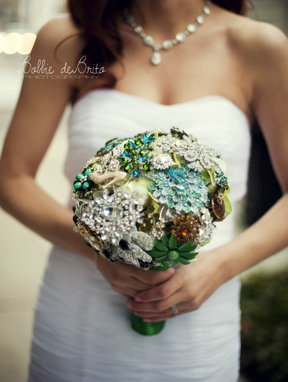 wedding bouquet for Katie, bride,in Columbus Ohio