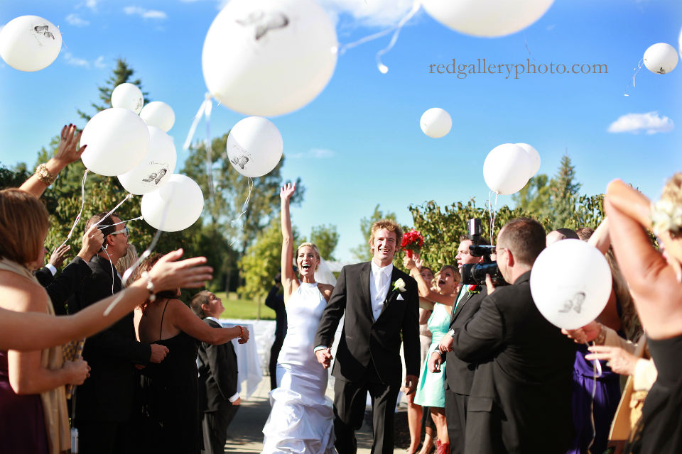 Officiant Damian King is off to the left, Brian from True Video wedding videographer captures images