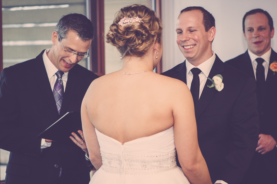 Dan Buckley photographs Damian King, wedding officiant, in Columbus Ohio