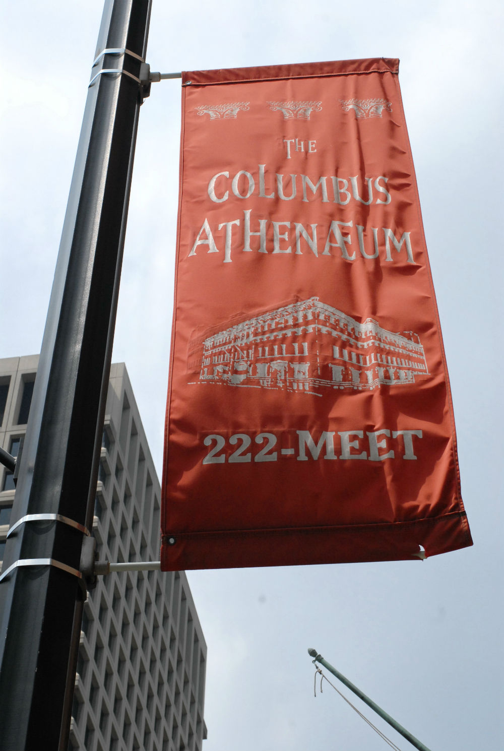 The Columbus Athenaeum wedding venue visited by officiant, Damian King