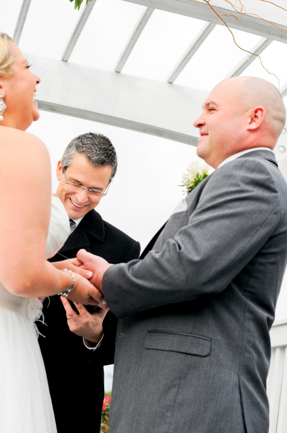 Wedding officiant, Damian King, of United Marriage Services, Columbus, OH