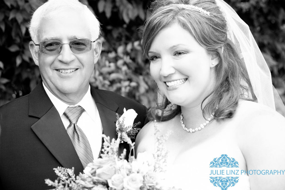 Father of the bride at wedding venue Four Seasons in Columbus, Ohio. Judith Margaroli proprietor.