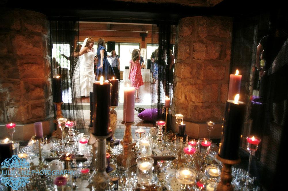 Four Seasons wedding venue, Sarah dances to Night Music DJ. Judith Margaroli Proprietor - Julie Linz Photographer