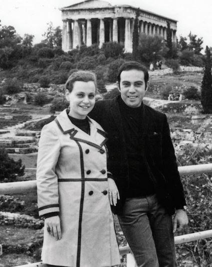 Linda and Allan Wenger, Athens, c. 1966.
