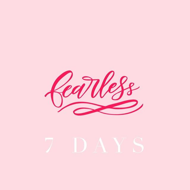1 WEEK UNTIL THE FEARLESS EVENT!!!! Who's pumped y'all?! + + + + +  #fearless #BeFearless #FearlessBabe #FearlessGirl #ChristianWomen #FearlessEvent #BeFearlessEvent #WomenEmpowerment #dallasevents #txevents #WomenEntrepreneurs #events #eventplanning #stylemepretty #createandcultivate #darlingmovement #texaseventplanner #eventplanner #glitterguide #prettyinpink #stylinglove #eventstyling