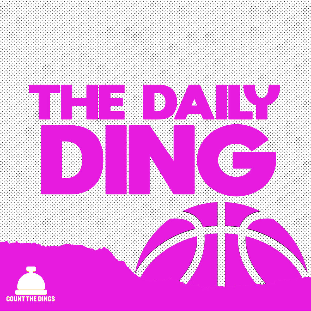 THE DAILY DING:  Daily - Like PTI and the Starters had a baby, The Daily Ding is a short (20min) daily podcast that dives into the biggest 3-4 stories from the night's NBA action. A mix of expert NBA coverage, social media commentary and dynamic guests, the Ding gives you everything you need to know before you hop on basketball twitter in the morning.