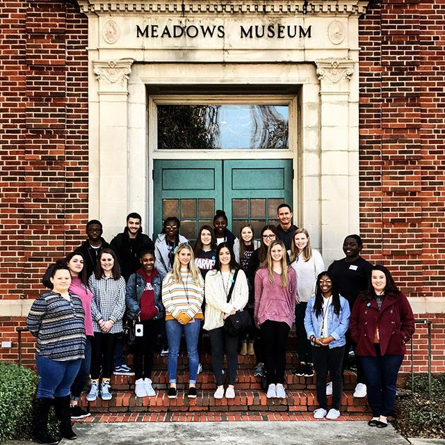 We had such a great time touring the museum with @cebyrdhighschool students from their Talented Arts program! Thank you all for such great discussion, insight, and ideas about our exhibits. Good luck with your photo scavenger hunt! Tag us in your results, we want to see what you all create. #steAm #318art #Meadows318 #CommunityEngagement #ArtEducation #CEByrd @centenaryla