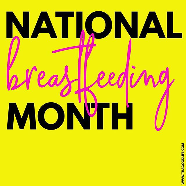 Happy National Breastfeeding🤱🏽 Month to all the nursing and pumping mamas! Post any of your breastfeeding and pumping hacks below!