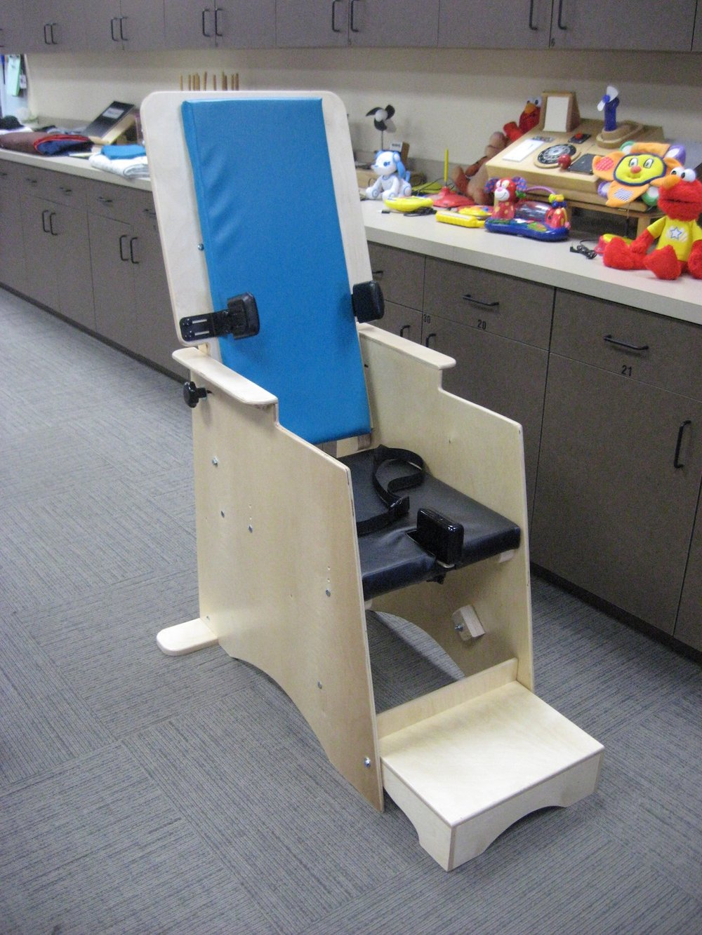 Tilt-Back High Chair