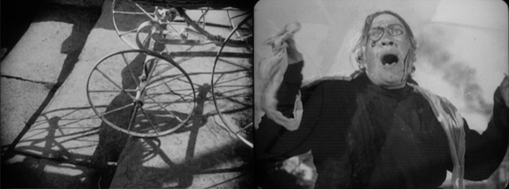Frames from  The Potemkin  by Sergei Eisenstein