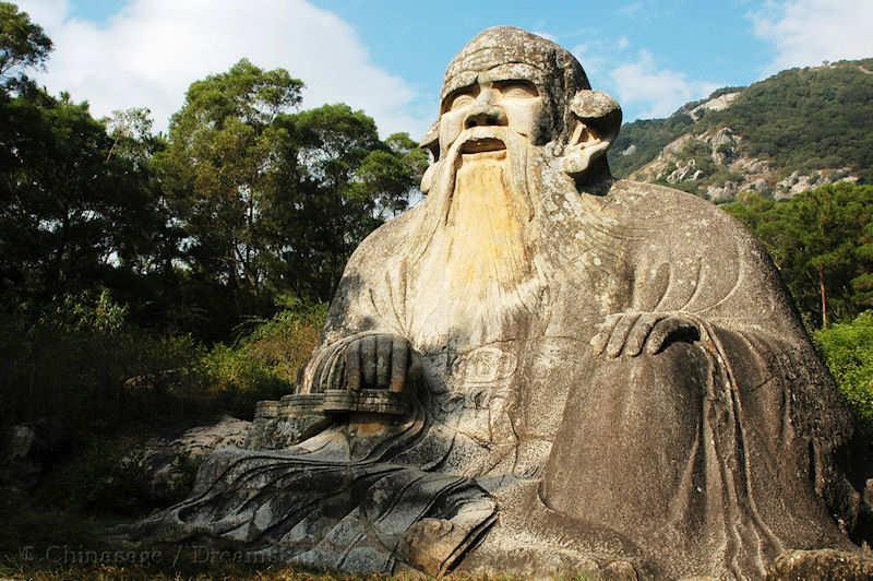 Lao Tzu: man of few words.