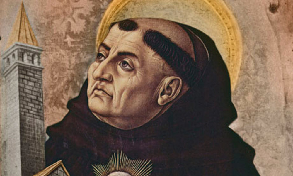 Thomas Aquinas: God likes things simple