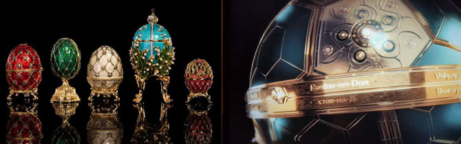 Fabergé meets football