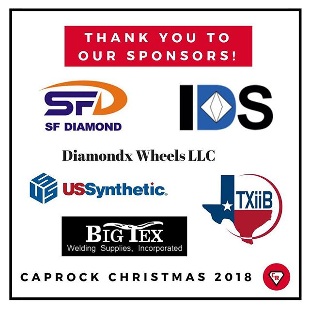 A huge thank you to all of our awesome sponsors who made our 2018 CapRock Christmas party a hit.
