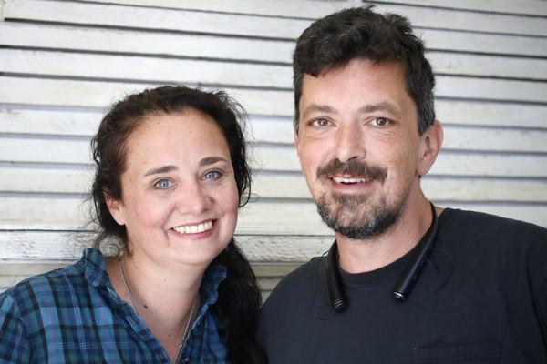 Bob & his wife Joanna