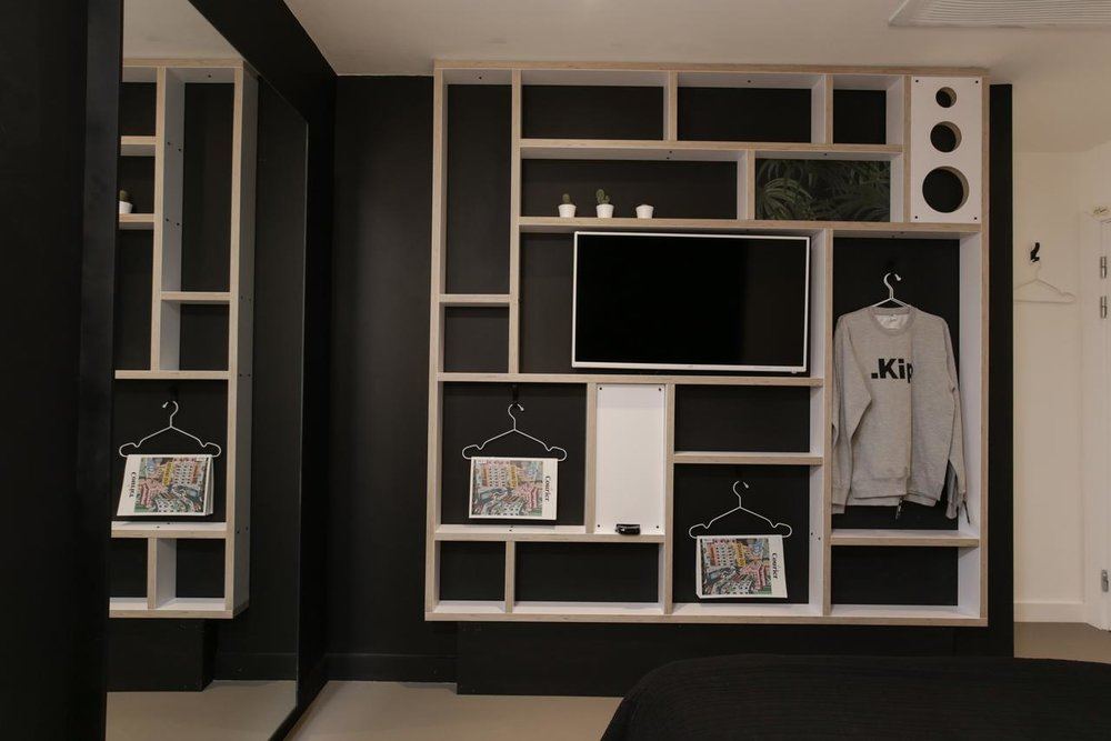 - Fitted furniture