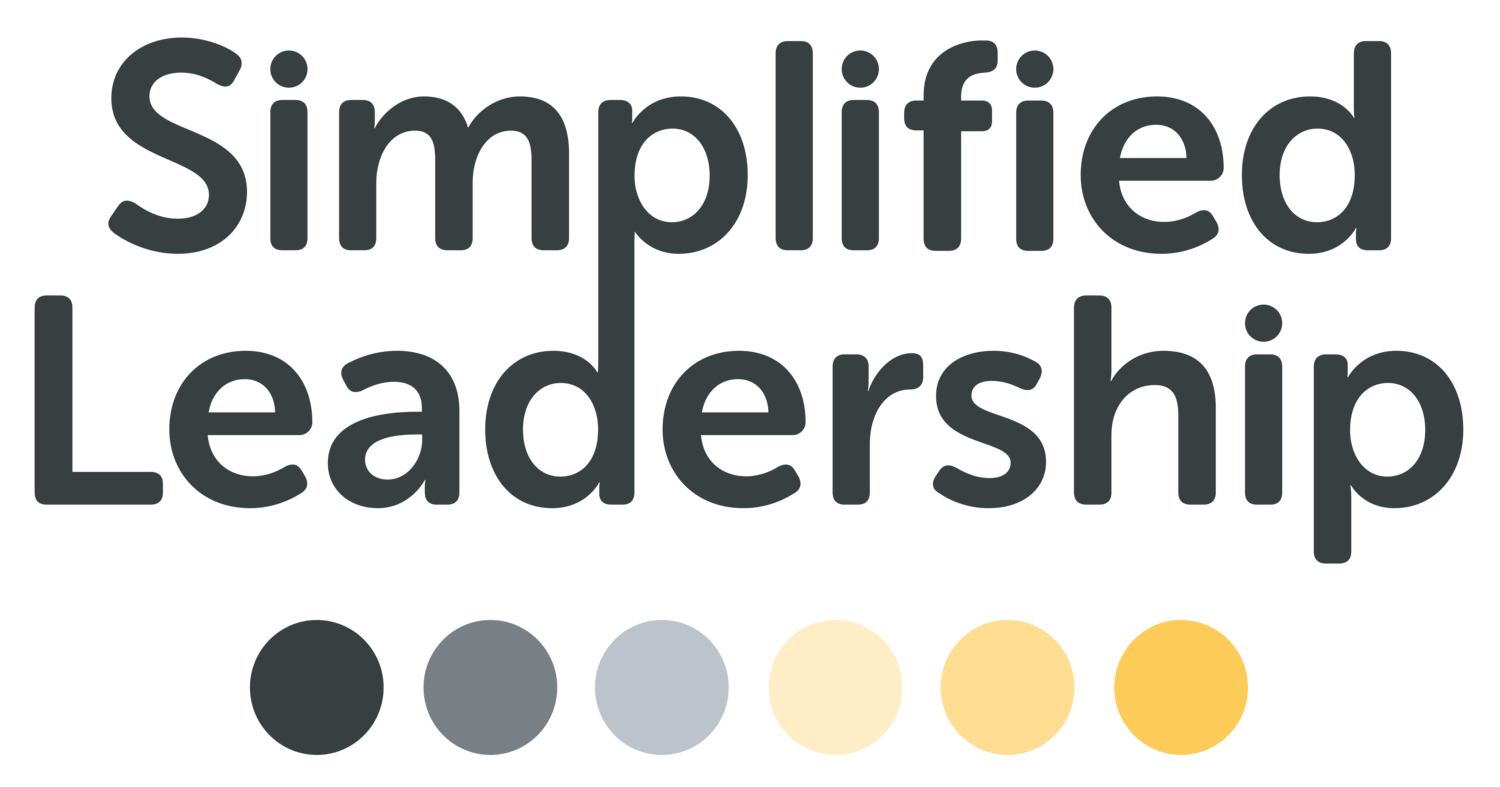 Simplified Leadership