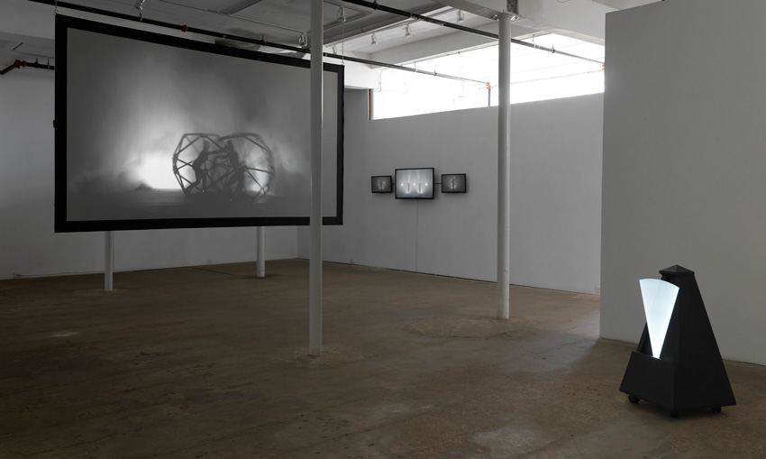 Maggie Stark,  Time Lock , 2016, exhibition view