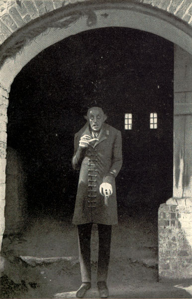 Max Schreck's eerie performance as Count Orlok (i.e. Count Dracula) was heighten by the fact that, through the magic of editing, the character never blinks throughout the entire movie!