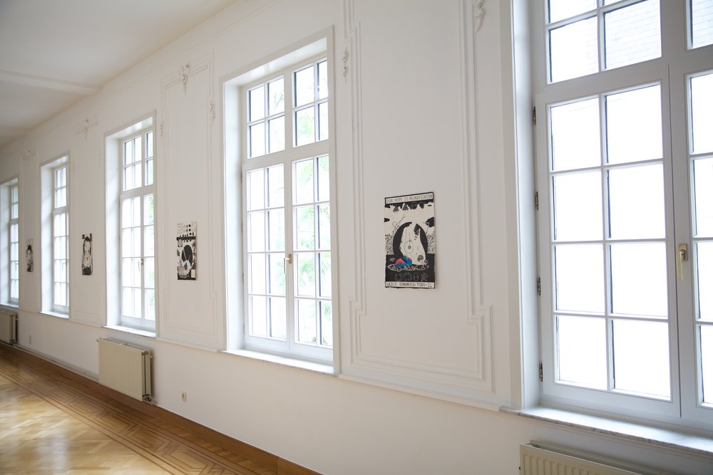 Group show Trust in the Unexpected At Gorvernor's Mansion, Gent, Belgium