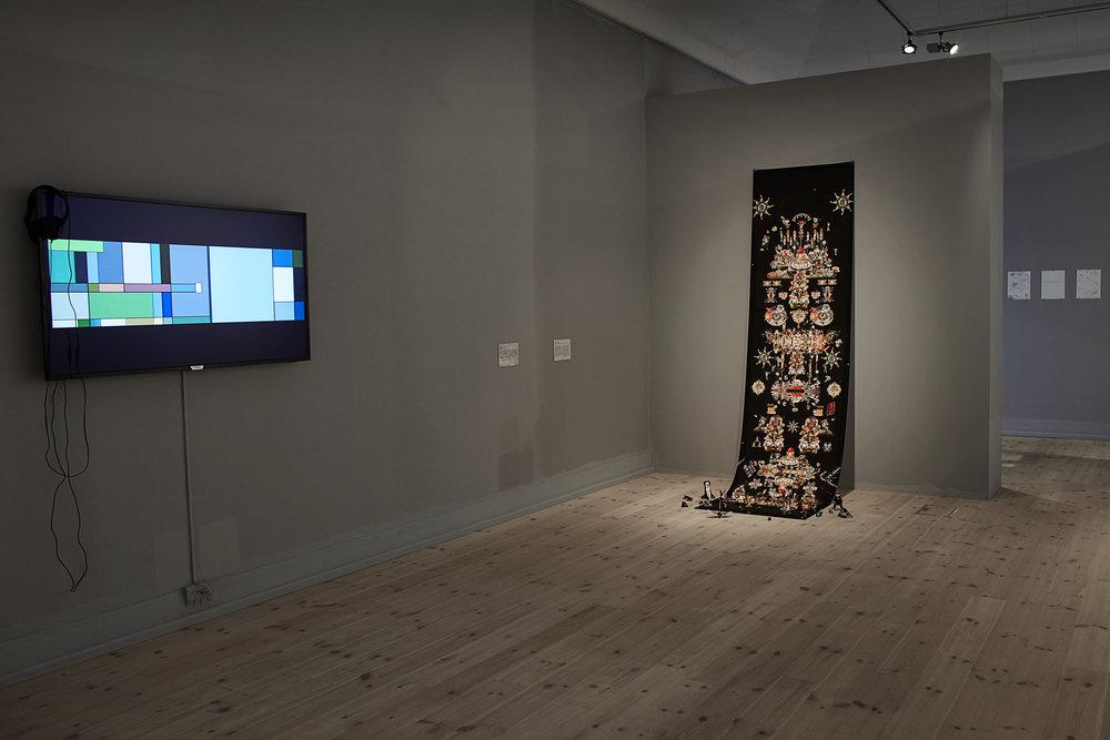 Installation view at Kunsthal Aarhus in Aarhus, 2018