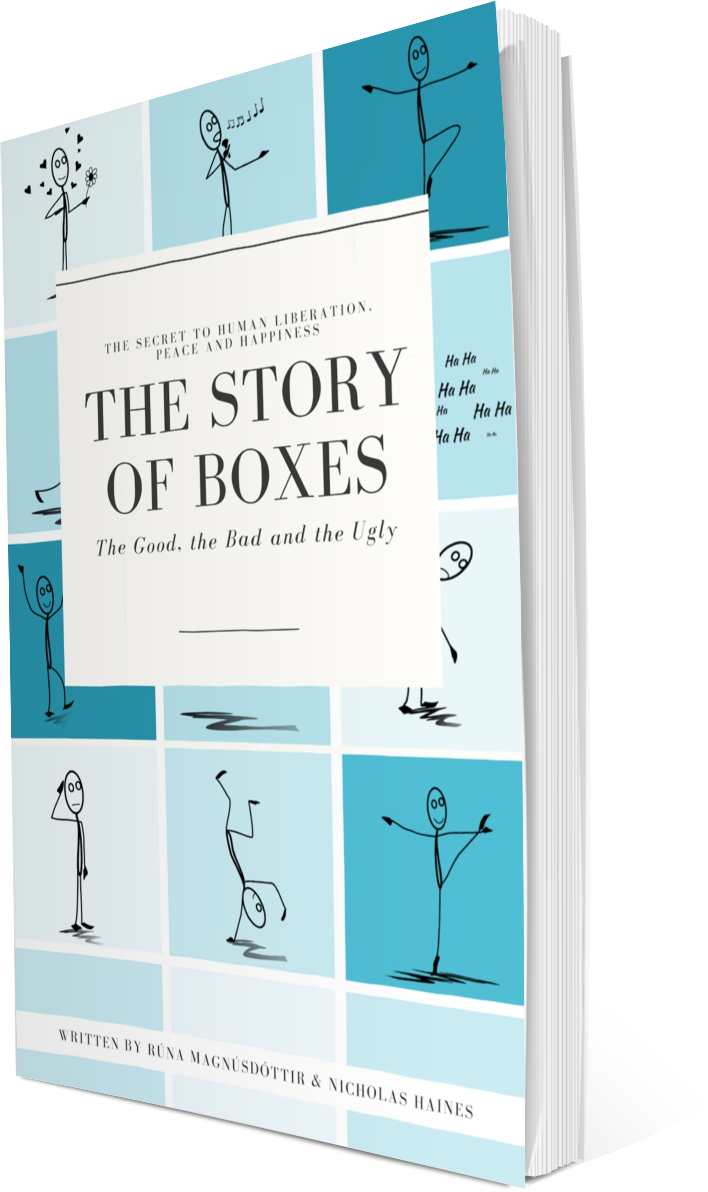 """THE STORY OF BOXES, THE GOOD, THE BAD AND THE UGLY - shines a light on our mental habit of thinking in """"boxes"""" – the authors' lucid metaphor for the generalisations, classifications, and stereotypes that shape our thoughts and, ultimately, our lives. We are living in turbulent times. Conflict and social unrest seem to be everywhere, and rapid technological changes are only adding to the cultural upheavals. Uncertainty – about the future, about ourselves – looms large in the collective consciousness of humanity. But is there a realistic path towards liberation, peace, and happiness for us all?Yes, there is – according to the authors of The Story of Boxes. The issue is that we all have a tendency to think in boxes – mentally placing people, ideas, and even objects (like underpants!) into rigid categories. Some of these categories – or """"boxes"""" – are good. They are a source of joy and comfort. Others are bad – responsible for creating immense pain, isolation, and division in the world. And others? They're just plain ugly!Once you become aware of the boxes that rule your personal life, the authors say, you can break out of box-based thinking and live a life that's freer and happier. You are no longer caged in by the walls of mental boxes.By investigating our unconscious and conscious boxes – and sharing inspirational stories and easy-to-grasp examples – this always cogent, sometimes funny book gives you a new way of thinking about reality.The book explores some of humanity's most salient and enduring boxes, including gender, race, sexuality, religion, and class – and gives you a key to unlock the boxes in your own mind."""