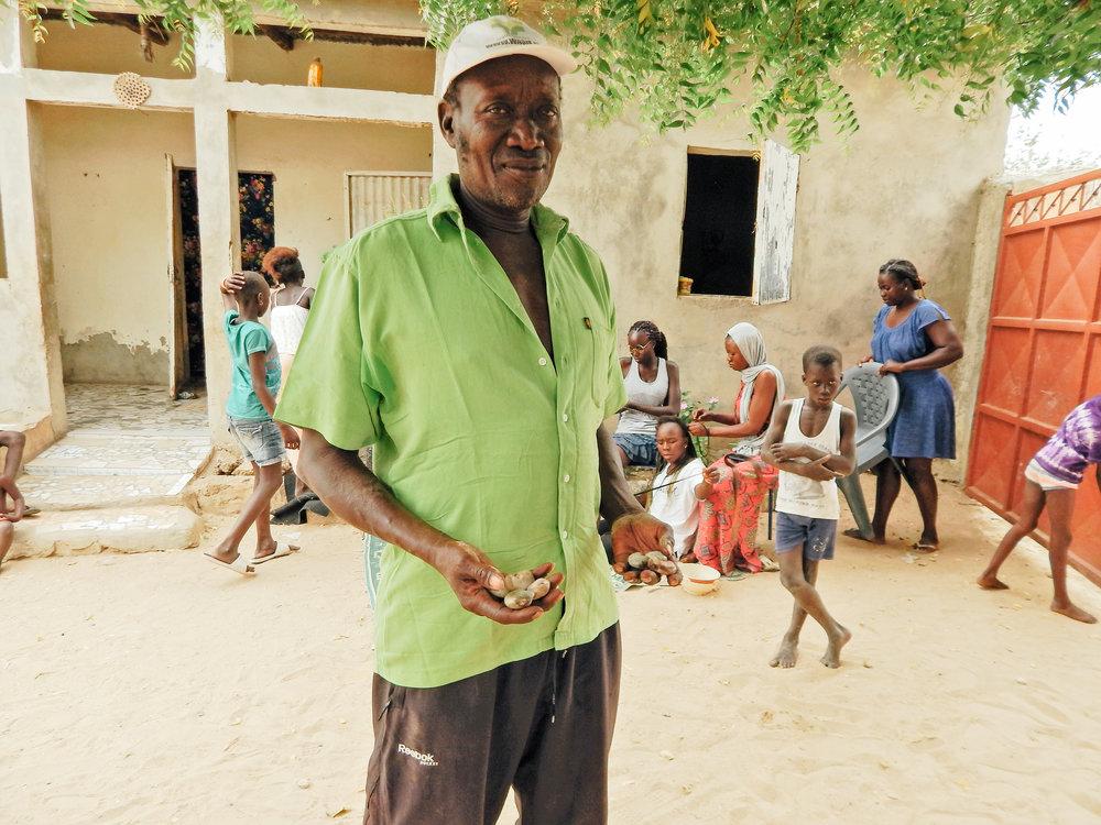 Fatick, a local cashew producer